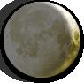 Waxing Crescent Moon image.