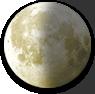 Last Quarter Moon image.